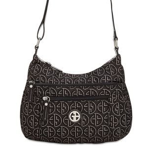 Giani Bernini Circle Signature Lurex Hobo Bag
